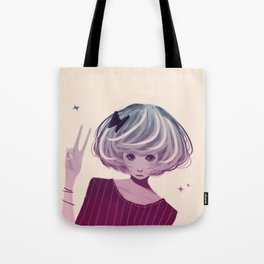 Not Smiling Doesn't Mean Your Not Happy Tote Bag