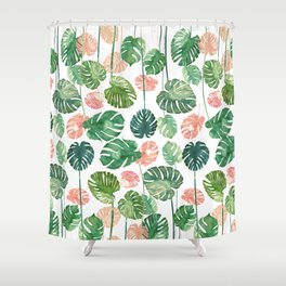 tropical invasion Shower Curtain