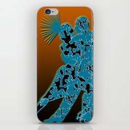 Joshua Tree Dancers by CREYES iPhone Skin