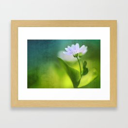 Above all, infinity...  Framed Art Print