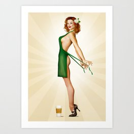 Double Tall Extra Hot Art Print