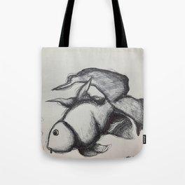 Fantail Goldfish  Tote Bag