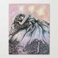 bittersweet Tragedy  Canvas Print