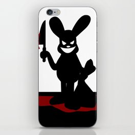 Bloody Bunny iPhone Skin