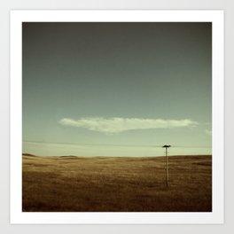 high/lonesome I Art Print