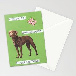 trust dog Stationery Cards