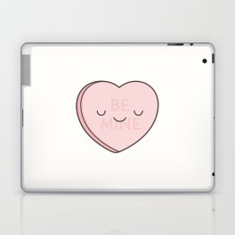 Pink Sweet Candy Heart Laptop & iPad Skin