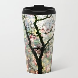 Passing Through, While looking for you Metal Travel Mug