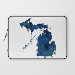 Michigan - wet paint Laptop Sleeve
