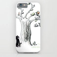 Little Cat and birdy iPhone 6s Slim Case