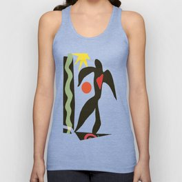 Inspired to Matisse (vintage) Unisex Tank Top