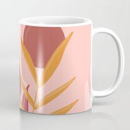 Earthy Botanical - pastel retro palette Coffee Mug
