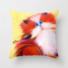 Tutti-Frutti Throw Pillow