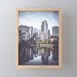 CHICAGO Framed Mini Art Print