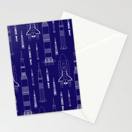 How We Get To Space Stationery Cards