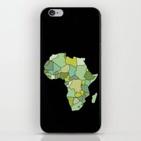 south africa iPhone & iPod Skins featuring Africa by Emir Simsek