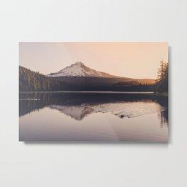 Wild Mountain Sunrise Metal Print