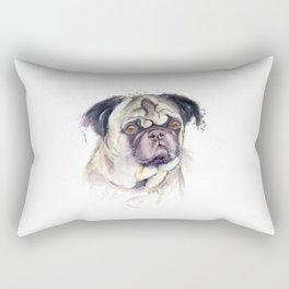 Mr. Thinker Rectangular Pillow