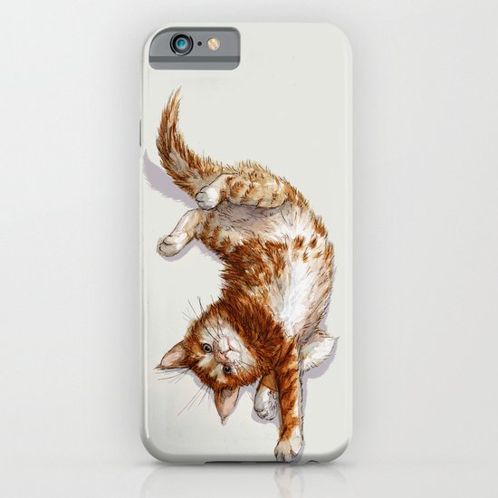 Ginger Kitten A062 iPhone & iPod Case