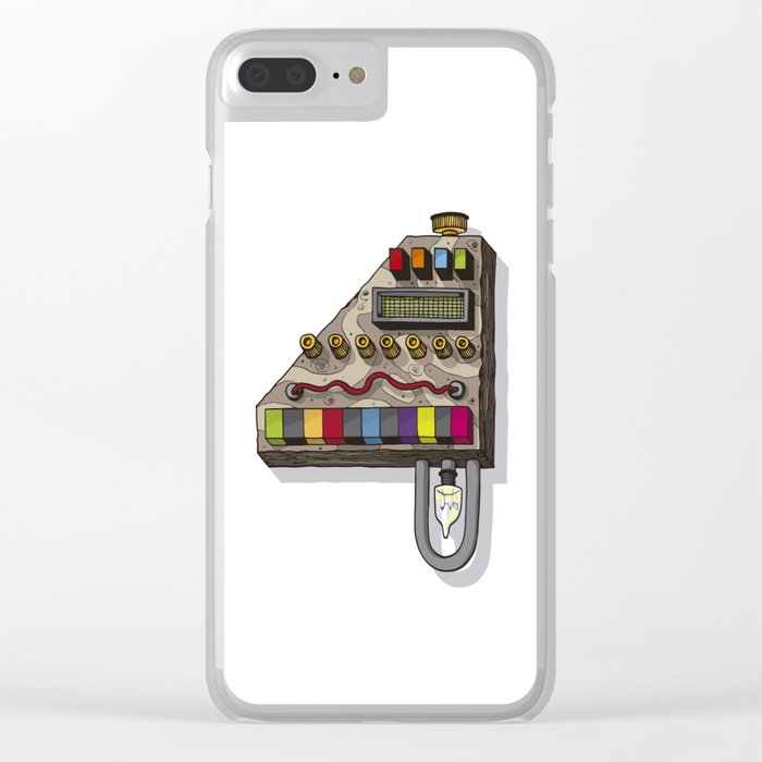 MACHINE LETTERS - 4 Clear iPhone Case
