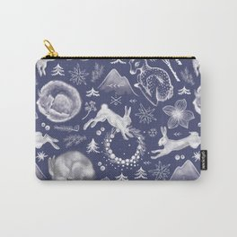 Winter Fauna Carry-All Pouch