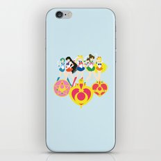Sailor Soldiers iPhone & iPod Skin