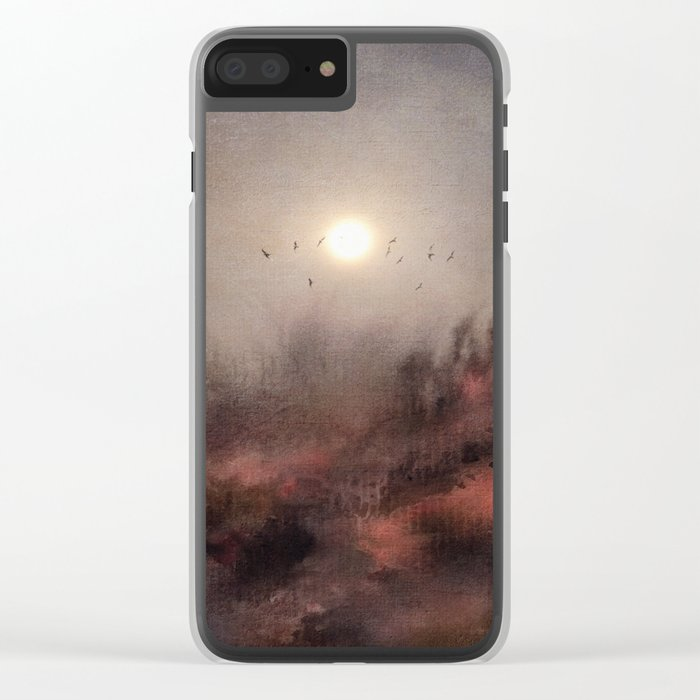 Calling The Sun c.o. Clear iPhone Case