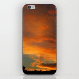 Flame Sky 2010 iPhone Skin