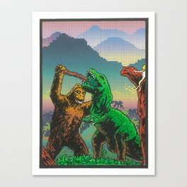 Rumble In The Jungle Canvas Print