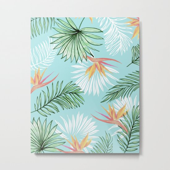 Tropic Palm #society6 #decor #buyart Metal Print