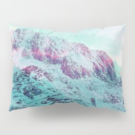 Pastel Magic Mountains Pillow Sham