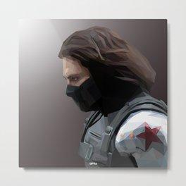 The Winter Soldier Metal Print