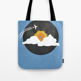 Sunburst Records Tote Bag