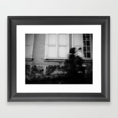 I follow you in the street, sometimes. 2 Framed Art Print