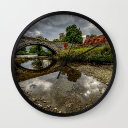Welsh Cottage Wall Clock