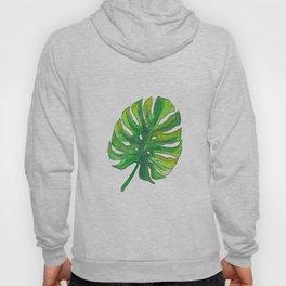 Monstera leaf Hoody