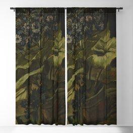 Vincent van Gogh - Cineraria Blackout Curtain