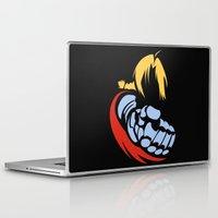 fullmetal Laptop & iPad Skins featuring Minimal Edward  by jpmdesign