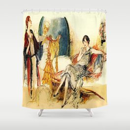 Ladies of Leisure Shower Curtain