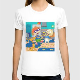 Rugrats Tommy Pickles Chuckie Finster Nickelodeon T-shirt