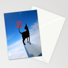 create your dreams everyday Stationery Cards