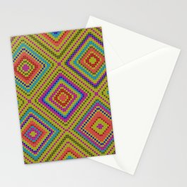 hang on to rhomb self Stationery Cards