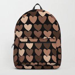 Skin Tone Hearts Backpack