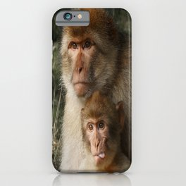 Cheeky Monkey iPhone Case