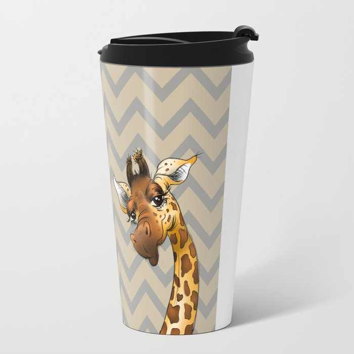Exciting Giraffe Travel Mug Contemporary - Best Image Engine ...