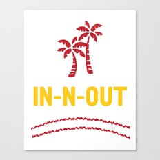 IN-N-OUT - Best burger Joint Canvas Print
