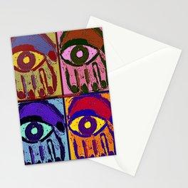 Pop Art Hamsas Stationery Cards