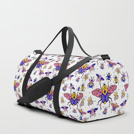 Magic Bugs pattern Duffle Bag