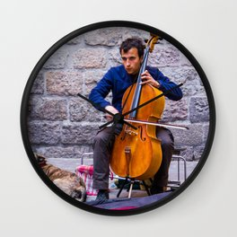Cello Wall Clock