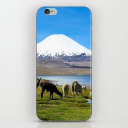 Chungara Lake, Chile iPhone Skin